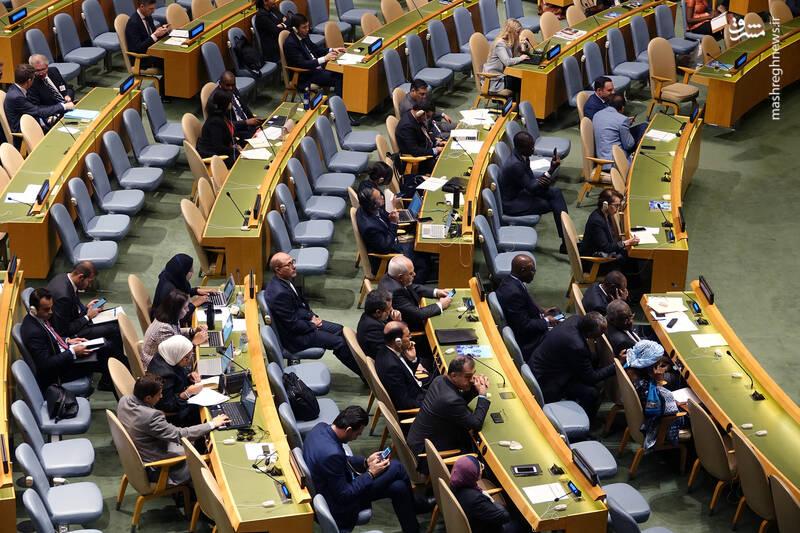 سخنرانی رئیس جمهور در هفتاد و چهارمین نشست مجمع عمومی سازمان ملل