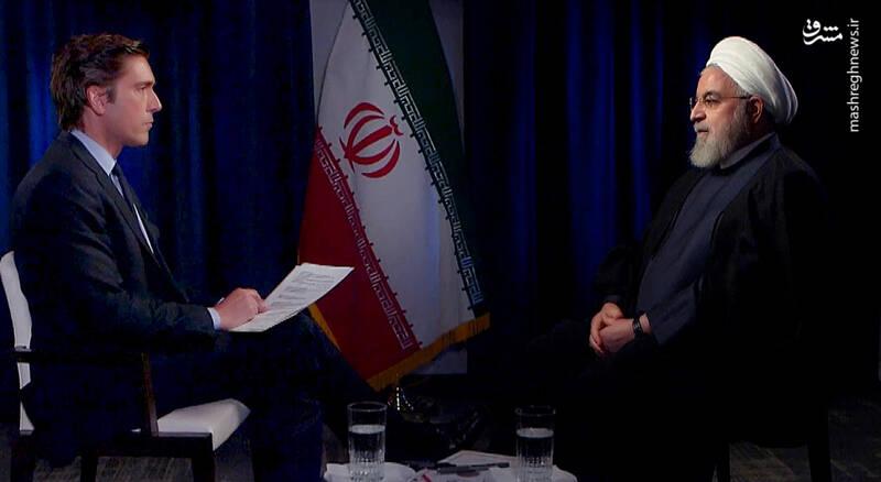 رئیس جمهور در گفت و گو با شبکه تلویزیونی ای بی سی نیوز آمریکا