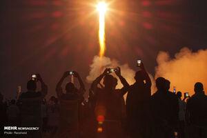 عکس/ آغاز عملیات فضاپیمای سایوز در فضا