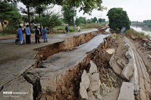 عکس/ حادثه مرگبار زلزله در پاکستان