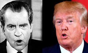 ترامپ و نیکسون