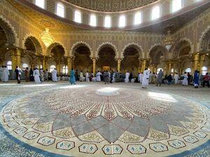 عکس/ افتتاح بزرگترین مسجد غرب آفریقا در سنگال