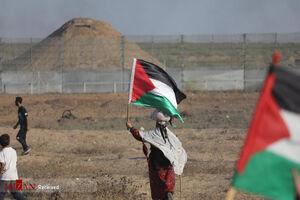عکس/ هفتاد و ششمین راهپیمایی بازگشت در نوار غزه