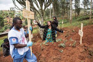 عکس/ ویروس ابولا در کنگو