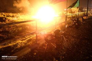 بازسازی عملیات «والفجر۸» در ساری