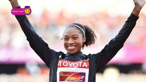 دونده زن رکورد سریعترین مرد جهان را شکست