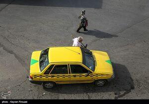 حجم بالای تاکسی در سنندج