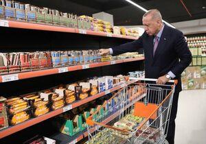 خرید کردن اردوغان در استانبول