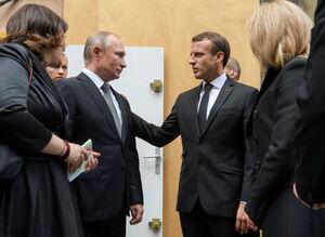 پوتین در مراسم تشییع جنازه «ژاک شیراک»