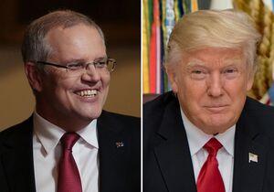 ترامپ و نخستوزیر استرالیا