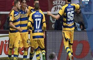 پیروزی پارما مقابل تورینو در انیو تاردینی