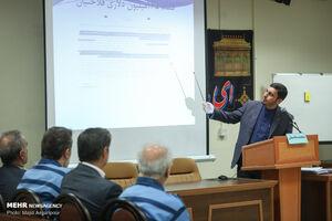 عکس/ دادگاه اتهامات علی دیواندری و مهدی فلاحتیان