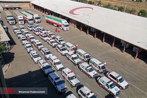 ارسال ۱۶۰ تُن دارو و تجهیزات پزشکی برای زائران اربعین