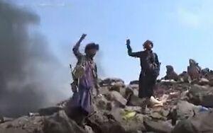 تسلط رزمندگان يمني بر انبار مهمات سعودي