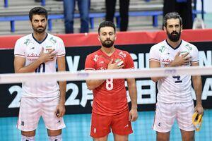 جایگاه ایران در پایان روز هشتم جام جهانی والیبال +نتایج