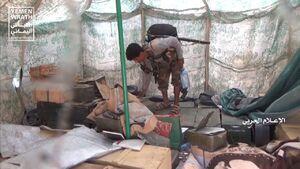 """فیلم/ کشف اسناد متعلق به داعش در عملیات""""نصر من الله"""""""