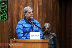عکس/ دومین دادگاه پرونده لیزینگ خودرو پرهام آزادشهر