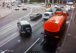 فیلم/ رانندهای که خیابانها را بهم ریخت!