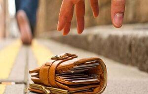 بازگرداندن کیف پول توریست توسط مأمور پلیس
