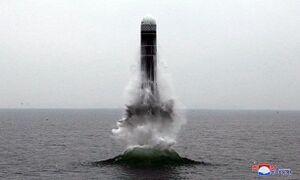 کره شمالی یک موشک جدید بالستیک آزمایش کرد
