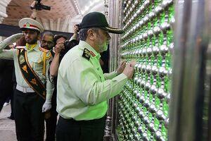 عکس/ تجدید میثاق کارکنان و فرماندهان ناجا با آرمانهای امام و شهدا