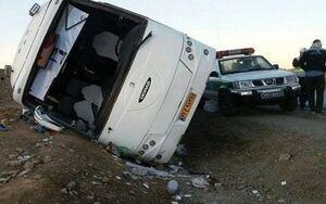 آخرین وضعیت مصدومان اتوبوس حامل مسافران اصفهانی در لرستان اعلام شد +اسامی