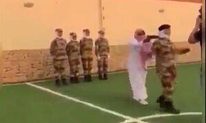 فیلم/  تمرین مضحک افسران زن ارتش عربستان!