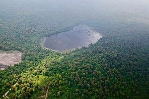 عکس/ دریاچه زیبای الندان