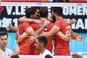 صعود والیبال ایران به رده هفتم جامجهانی +جدول