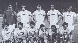 تیم ملی ایران سال 1972
