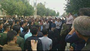 مردم لردگان در پاسخ به فرمانده سپاه: آشوب کار ما نبوده +فیلم