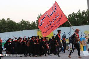 عکس/ عبور زائران اربعین حسینی از شلمچه
