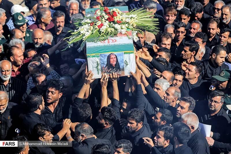 آئین تشییع شهید «محمود توکلی»