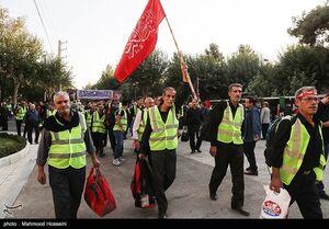 عکس/ اعزام ۱۴۰۰ داوطلب خادم اربعین
