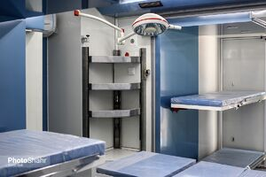 اعزام اولین بیمارستان سیار به کربلا