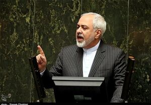 فیلم/ اصرار ظریف برای اتمام جلسه و خروج از مجلس