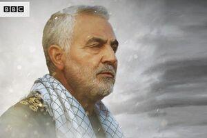 فیلمی جالب از حضور حاج قاسم در سوریه