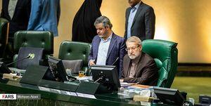 اعتراض لاریجانی به غیبت وزرا در نشست غیرعلنی مجلس