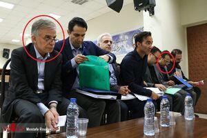 عکس/ واکنش قاضی صلواتی به تقلب رساندن ایروانی