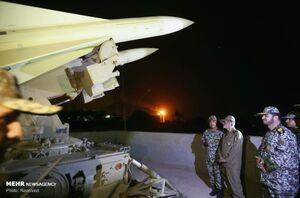 عکس/ بازدید سرلشکر موسوی از سامانههای پدافندی خلیج فارس
