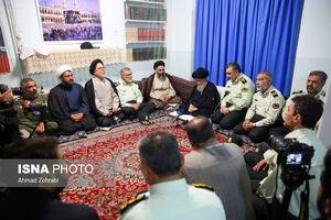 عکس/ دیدار سردار اشتری با مراجع در قم