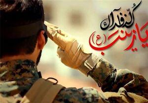 عکس/ نائب الزیاره شهید هستم