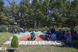 عکس/ تجمع کارگران آذرآب اراک