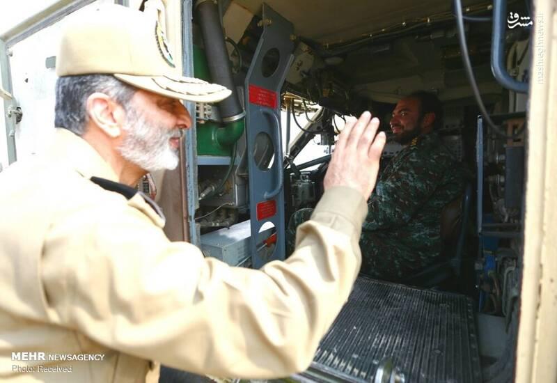 بازدید سرلشکر موسوی از سامانههای پدافندی خلیج فارس