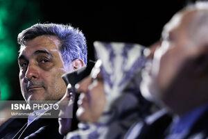 عکس/ ظریف و همسرش در بزرگداشت روز تهران