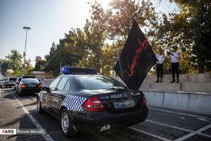 عکس/ بدرقه چهار هزار پلیس برای خدمت به زوار اربعین