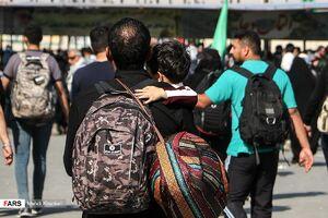 زائران «اربعین حسینی» در مرز مهران
