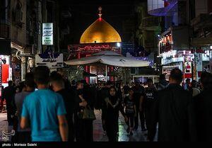 عکس/ حضور پرشور زائران حسینی در نجف اشرف