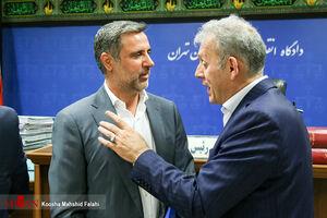 عکس/ چهارمین دادگاه علی دیواندری و ۸ متهم دیگر