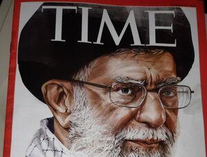 مقایسه آیت الله خامنهای و ترامپ در مجله تایم +عکس